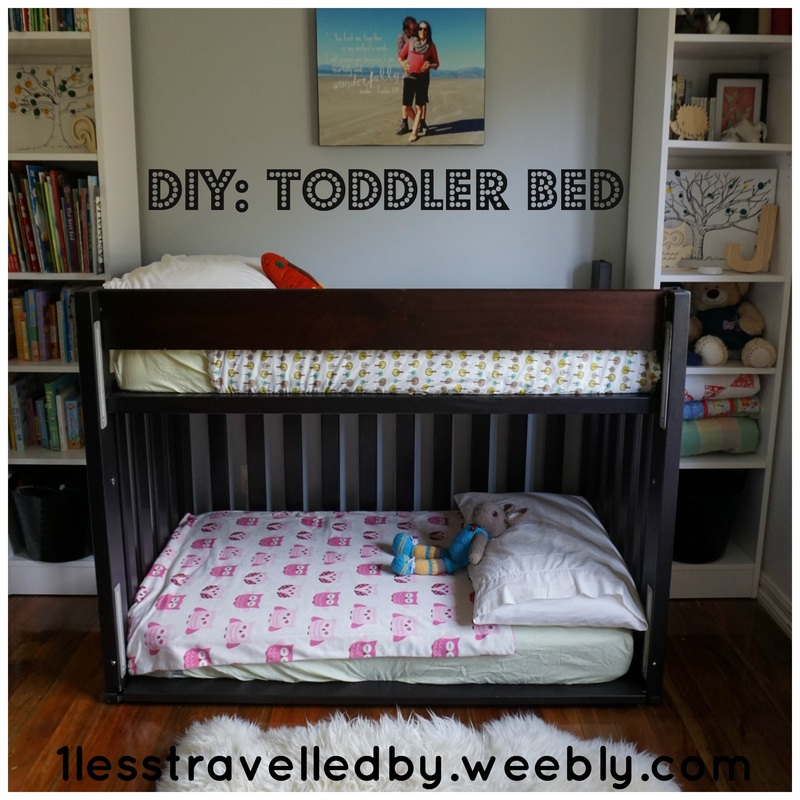 Diy toddler bunk bed for Toddler bunk beds
