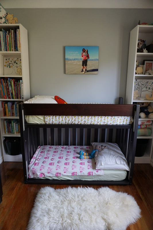 DIY Toddler Bunk Bed